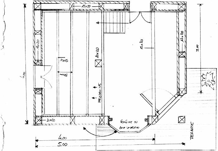 plans de cabanes et guides dimensions