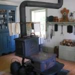 poêle à bois en céramique