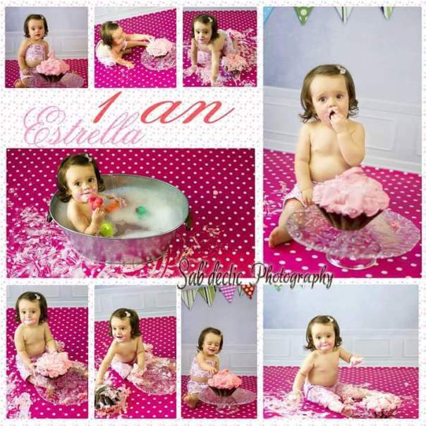 Tenue Smath the cake fille coeurs