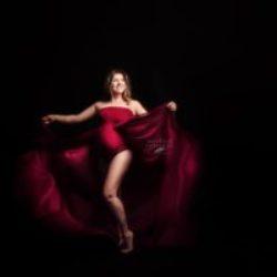 Création robe bodysuit modèleTulipe for fine art photographies