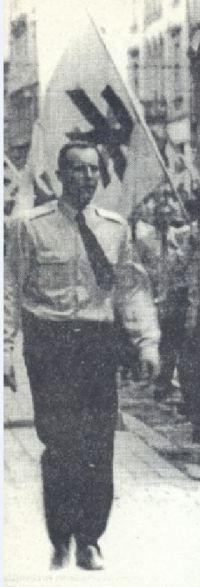 Andrii Parubii, alors l'un des leaders du SNPU