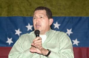 Le défunt président vénézuélien Hugo Chavez.