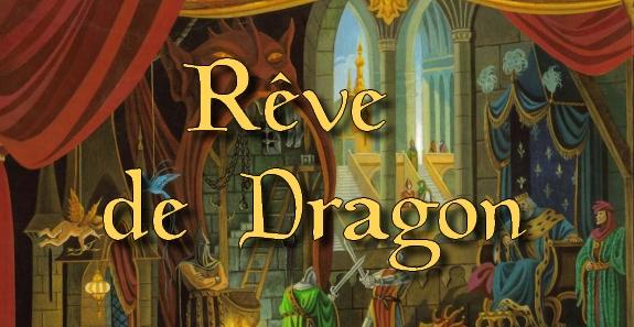 Rêve de Dragon 2 – Titre couverture