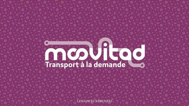 Aperçu du logo violet de Moovitad
