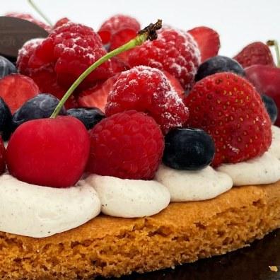 Tarte fruits rouges1