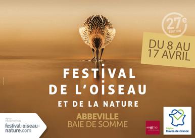 27e édition du Festival de l'Oiseau et de la Nature en Baie de Somme 8 au 17 avril 2017