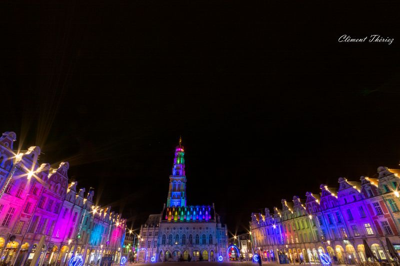 Arras Ville de Lumières Multicolore