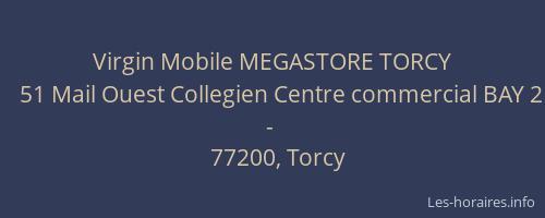 virgin mobile megastore torcy torcy les