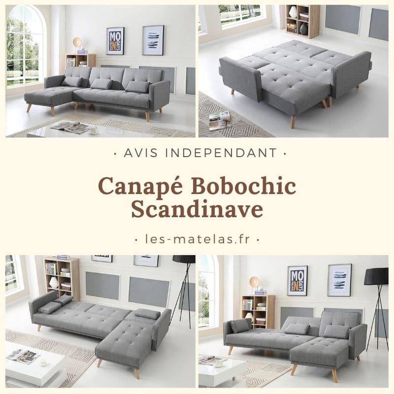 canape bobochic scandinave