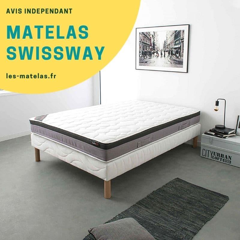 Matelas Swissway Avis 2021 Prix Et Retours Clients