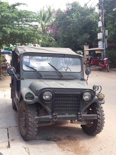 Le Cambodge : découverte de Siem Reap. Jeep
