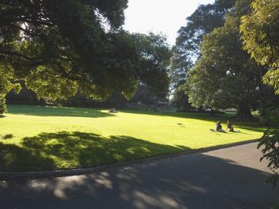 Sydney, Océanie, la terre promise de l'Océan indien. Vue du Royal Botanic Gardens