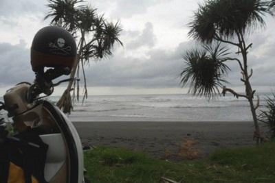 Bali plage : l'ouest, Negara, Medewi, Gilimanuk. Perancak