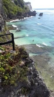 Bali plage : la péninsule, Jimbaran, Bukit, Nusa Dua. Uluwatu falaises