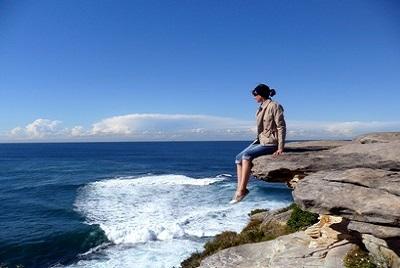 Découverte de l'Australie : quoi faire à Sydney. Valérie à Bondi