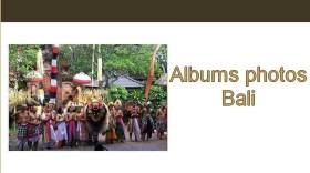Albums photos Bali