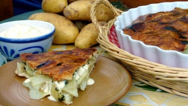 Cuisine végétarienne : recette vegan du pâté aux pommes de terre. La dégustation