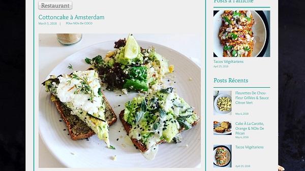 Pomme Noix Une Noisette, le blog culinaire de Pauline. Les bonnes adresses