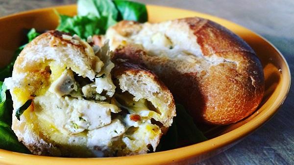 Pomme Noix Une Noisette, le blog culinaire de Pauline. Petit pain gourmand