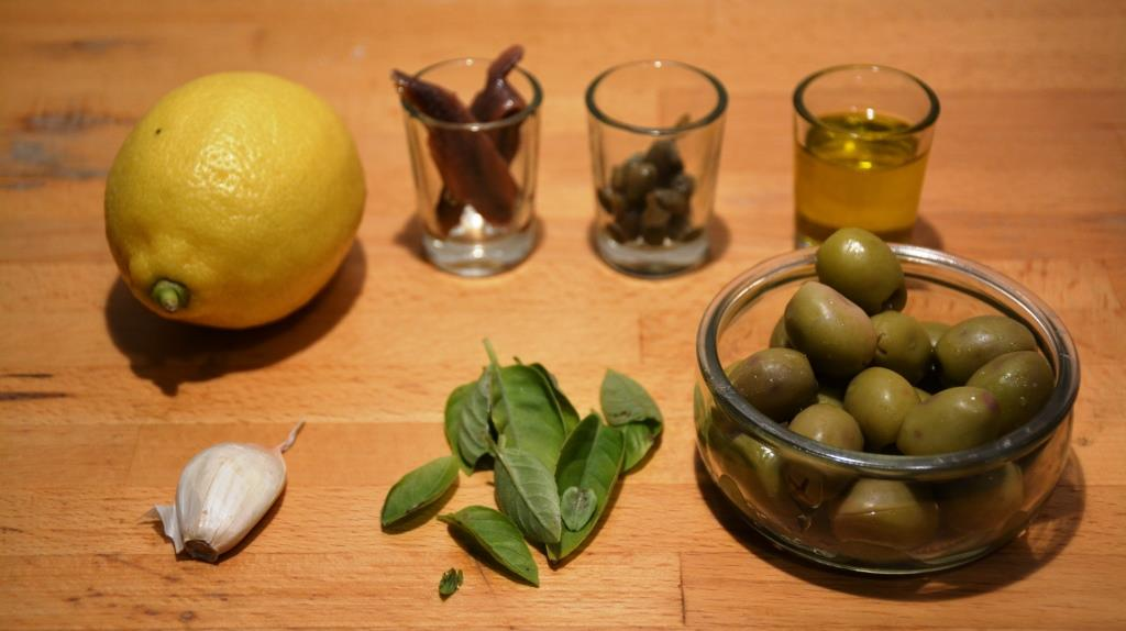 1 ingredients tapenade