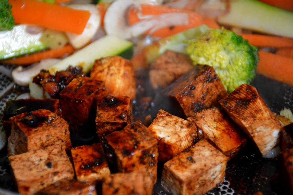tofu + légumes