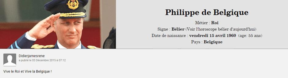 Roi des Belges