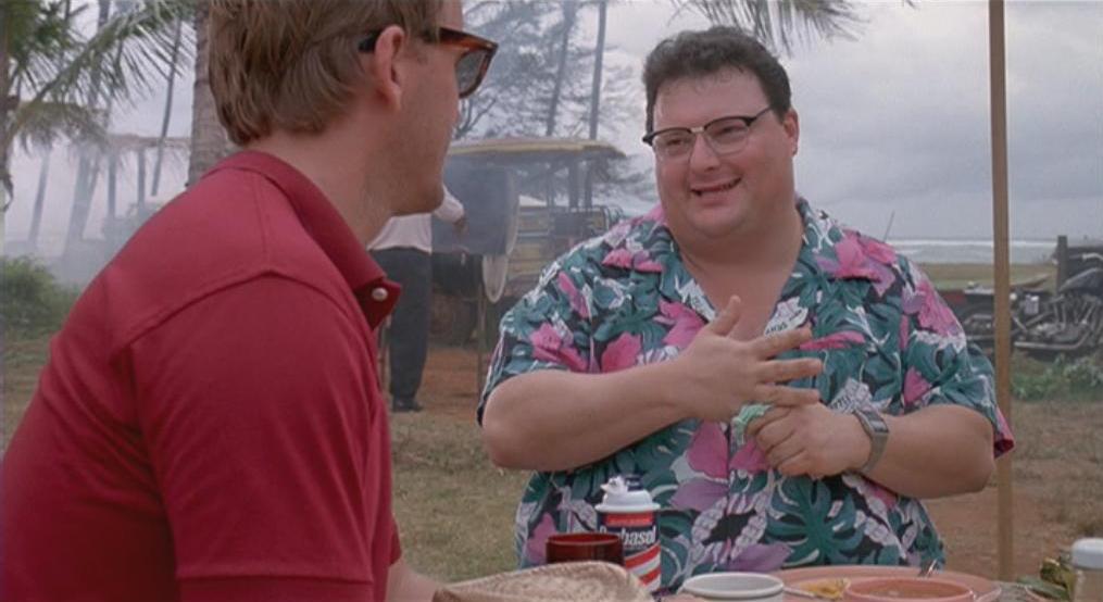 """""""Soyez pas radin avec moi, Dogson. Hammond a déjà fait l'erreur."""""""