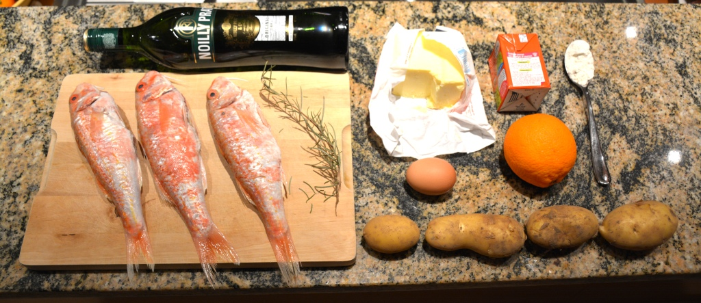 1. rougets ingredients