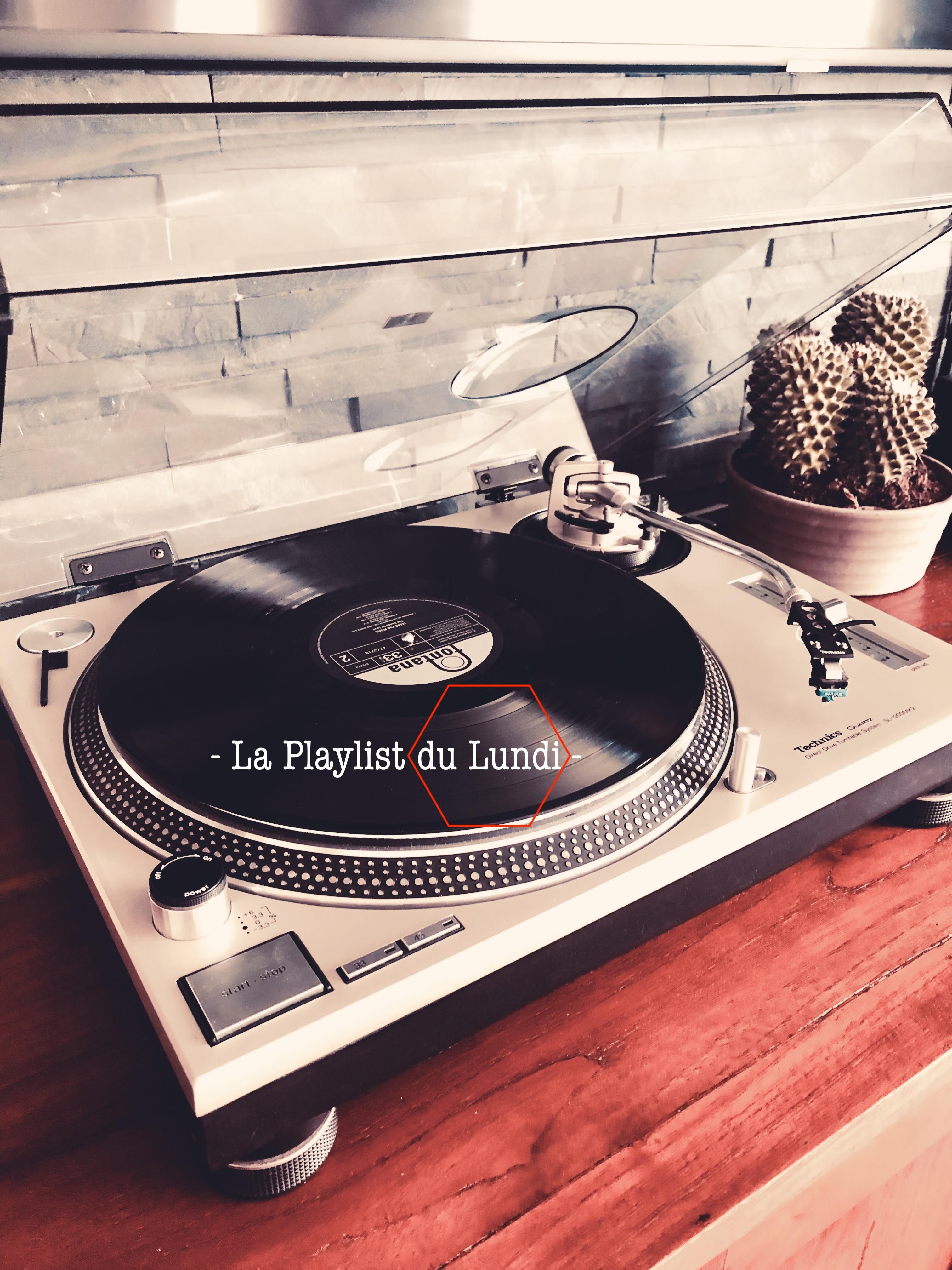 """Couverture article de playlist """" Une histoire de vinyle"""