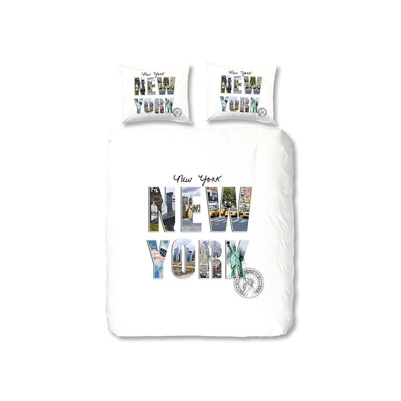Housse De Couette Double Taies New York 240x200