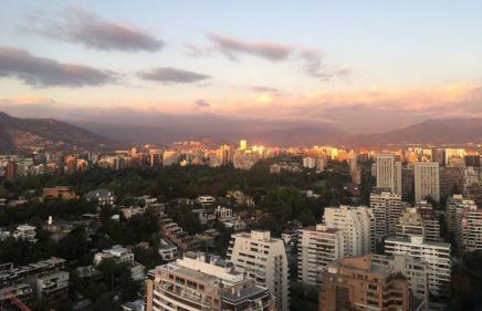 sac des voyages de julia chili vue coucher soleil montagne