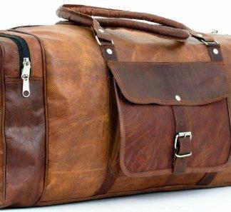 sac gusti cuir artisanal, un sac de voyage ou bagage à main