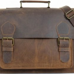Oskar-Stag-de-Gusti-Cuir-Sac-en-bandoulire-en-cuir-brun-Vritable-Sac--dos-Vintage-Femme-Homme-2M1b-0