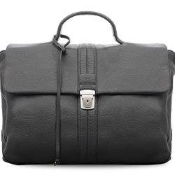 BOVARI-Briefcase-Serviette-en-cuir-38x27x11-cm-Model-Oslo-noir-limited-premium-edition-0