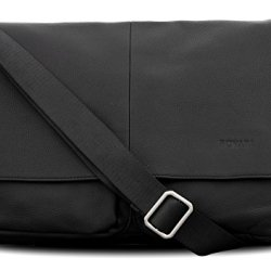 BOVARI-Messenger-en-cuir-Sac-bandoulire-sac-port-paule-35x27x8-cm-Model-London-noir-0
