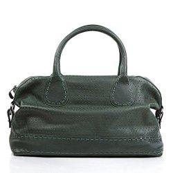 FEYNSINN-besace-weekend-HOLY-bagage--main-en-cuir-sac-de-voyage-vert-44-x-35-x-11-cm-0