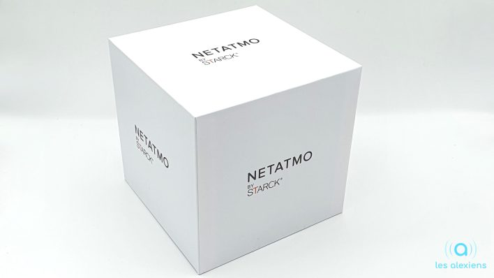 Unboxing du thermostat Netatmo