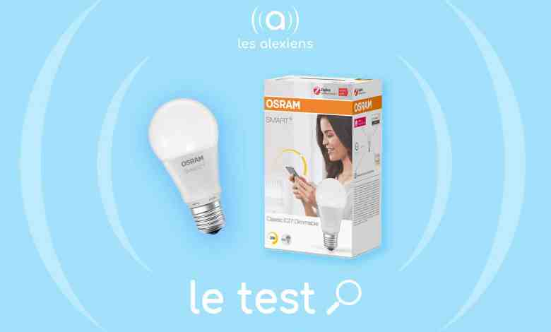Photo of [TEST] OSRAM Smart+ Classic White E27 : une ampoule dimmable Zigbee à petit prix