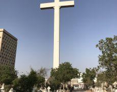 Une croix de 42m à Karachi au Pakistan