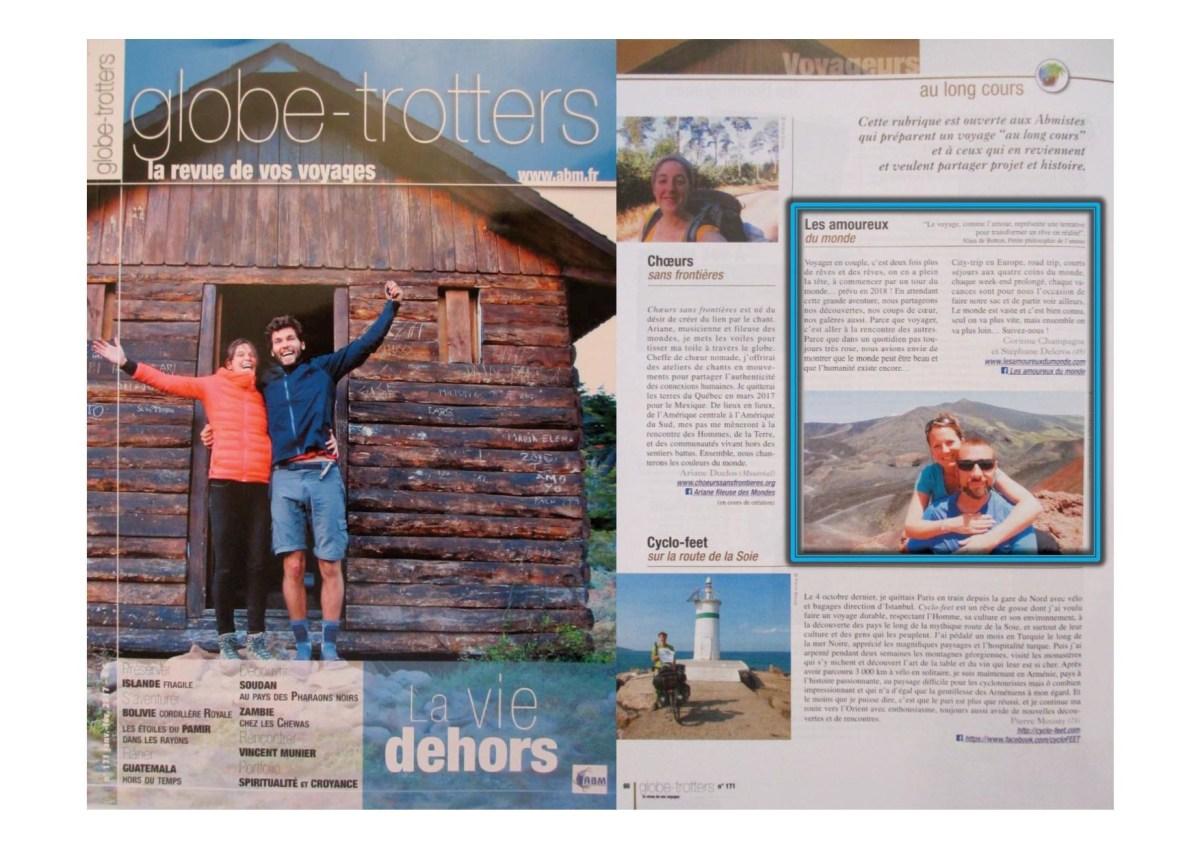 Magazine Globe-trotteurs N°171- Janv-Fév 2017