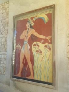 Fresque du Prince aux Lys