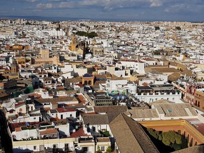 Vue depuis la Giralda - Séville