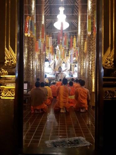 prières des moines