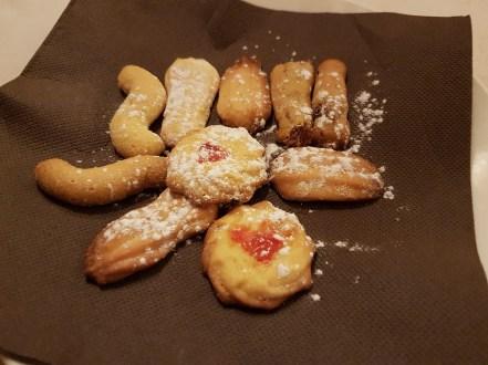 biscuits offerts au dessert