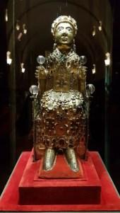 Le trésor le l'abbatiale de Sainte-Foy de Conques