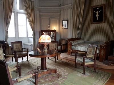 Chambre Empire - Château du Plessis-Bourré