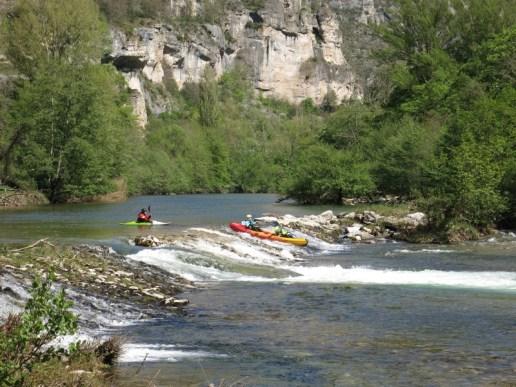 canoë kayak sur les Gorges du Tarn