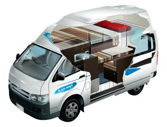 Campervan type Cheap Campa