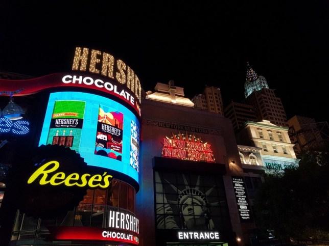 New-York à Las Vegas