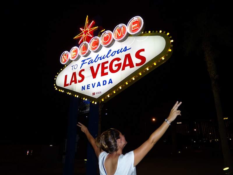 Welcome to fabulous Las Vegas de nuit